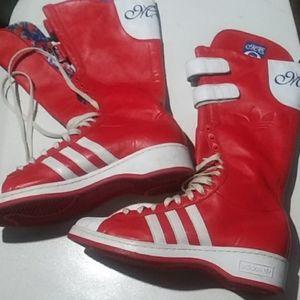 M. E.  adidas The Original Bright Red. No creases